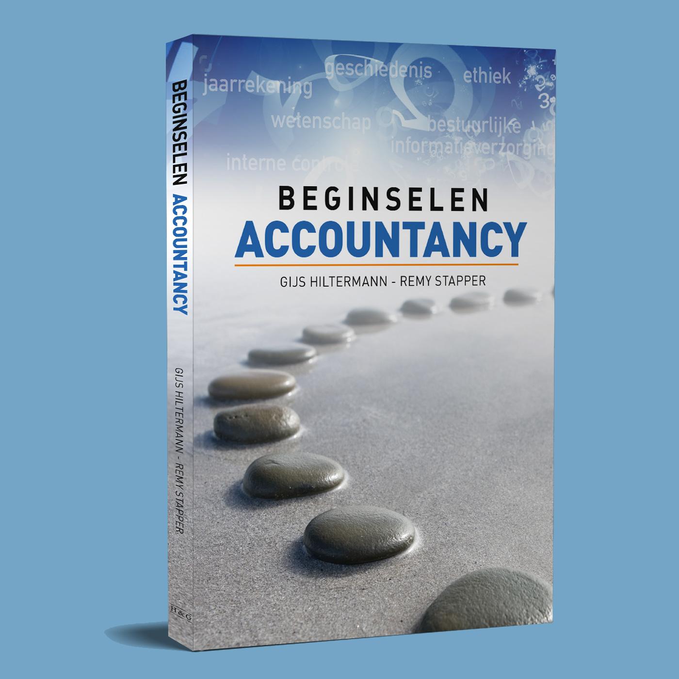 Opmaak en drukwerk van het boek Beginselen Accountancy, een van de diverse uitgaven van H