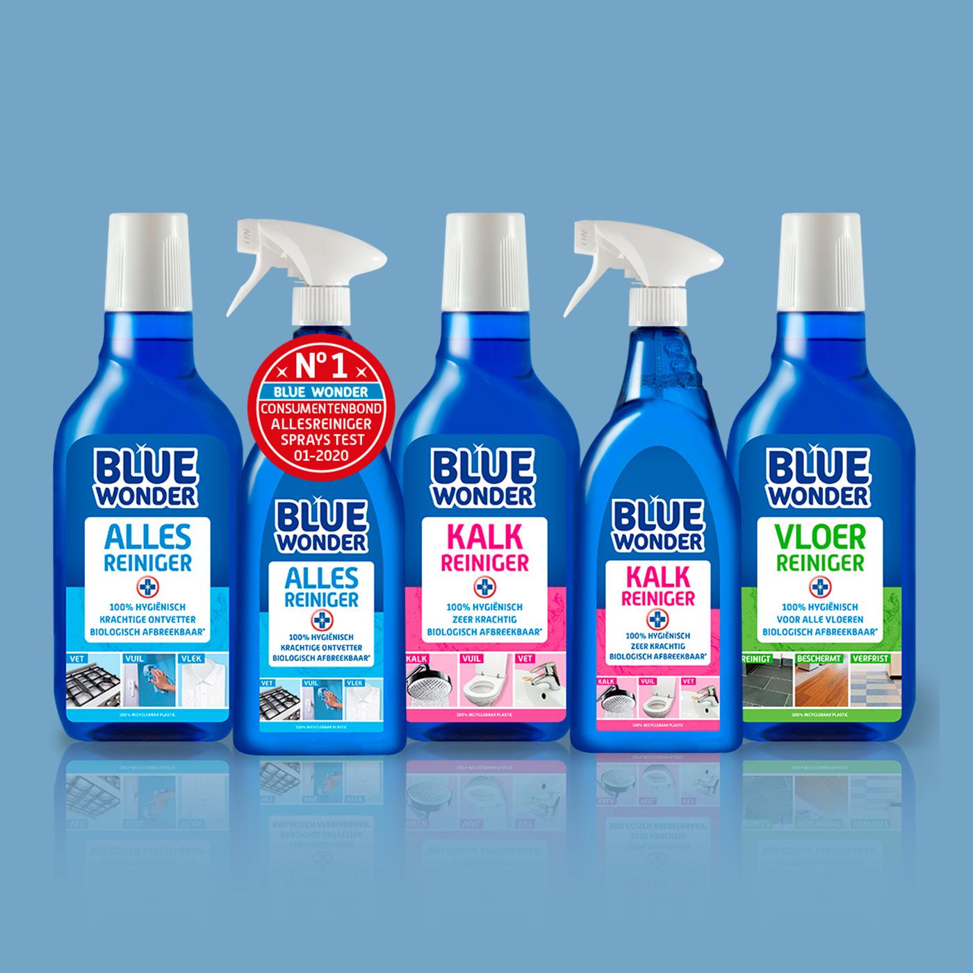 Voor Blue Wonder verzorg ik het ontwerp en de opmaak van alle productlabels, productafbeeldingen en overig promotiemateriaal. Daarnaast ook de vormgeving, bouw en onderhoud van de website.